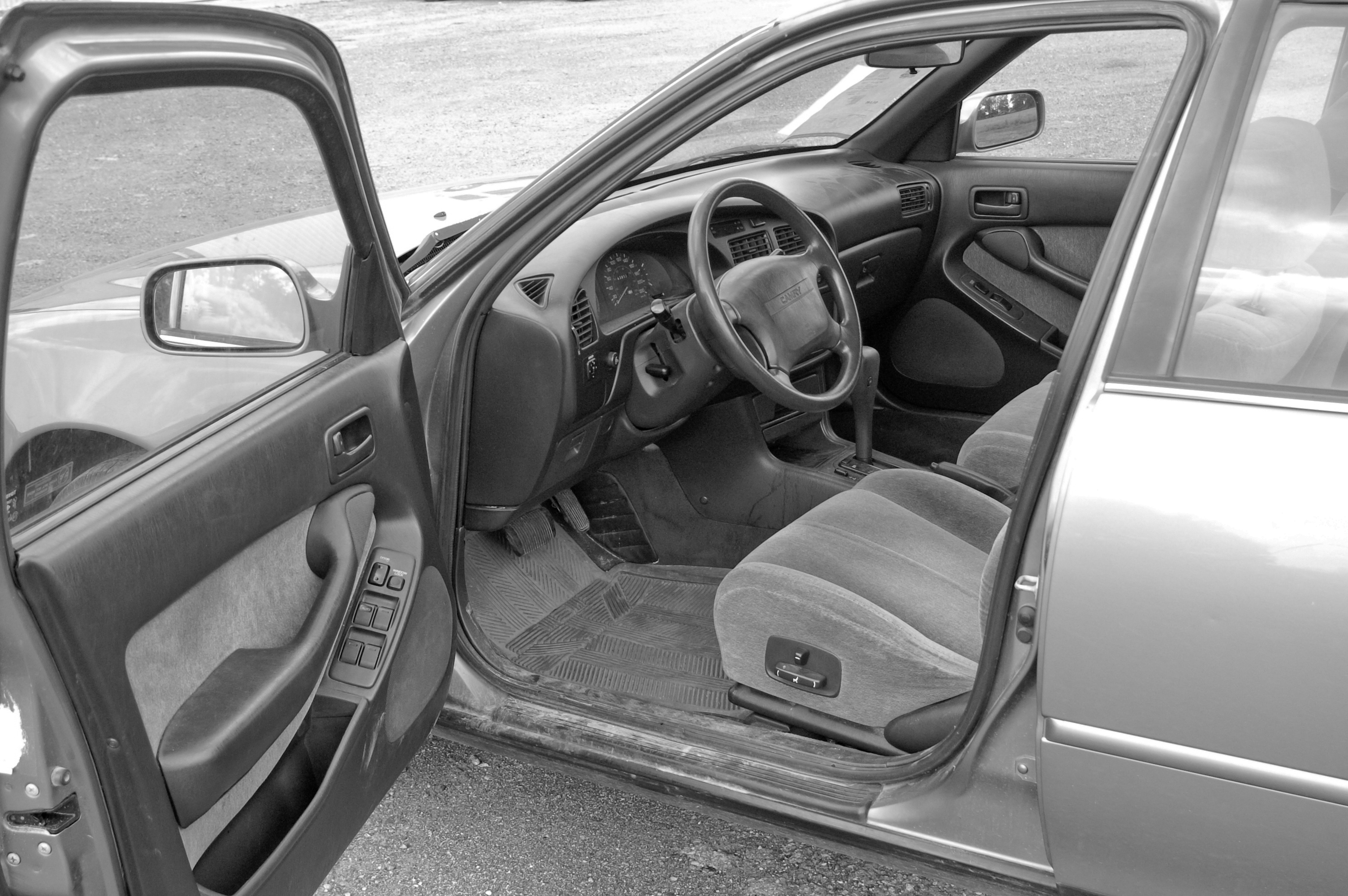 After The Contest Crown 1993 Toyota Camry Open Road Diaries 2011 Interior Finished